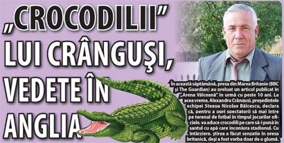 alexandru crangusi nicolae balcescu crocodili